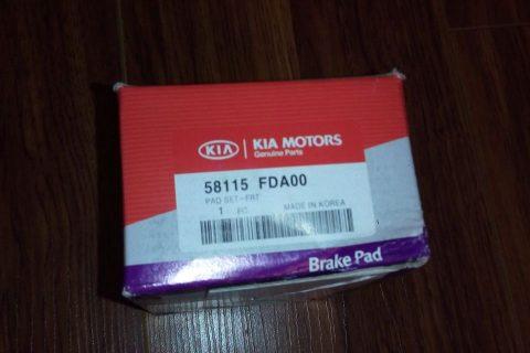 لنت ترمز جلو اصلی ریو – KIA MOTORS – قیمت 175000تومان